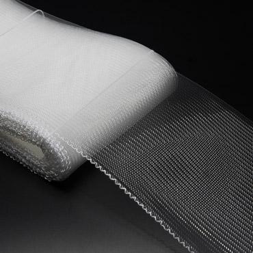 Clear Crinoline Horsehair Fabric