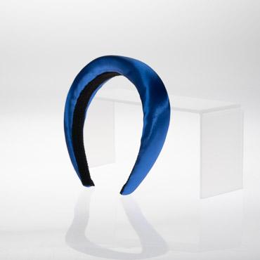 Wide Satin Padded Headband