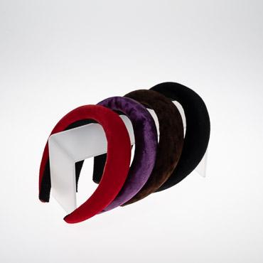 Wide Velvet Padded Headband