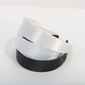 3.5 CM (1 3/8 Inch) Satin cover Headband