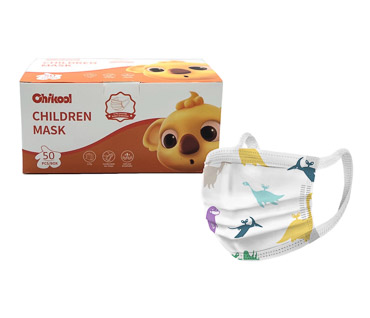 Dinosaur Kids Disposable Non-Medical Mask